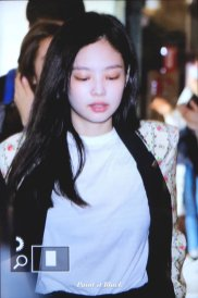27-BLACKPINK Jennie Airport Photo 17 September 2018 Gimpo to Japan