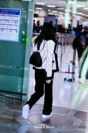28-BLACKPINK Jennie Airport Photo 17 September 2018 Gimpo to Japan