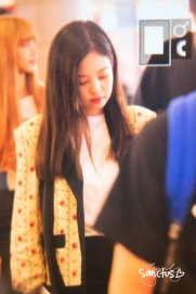 29-BLACKPINK Jennie Airport Photo 17 September 2018 Gimpo to Japan