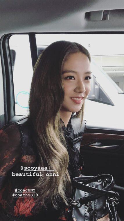 3-BLACKPINK Jisoo COACH New York Fashion Week 2018