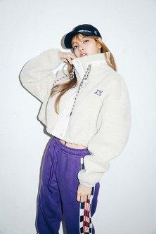 3-BLACKPINK Lisa X-girl Japan 2nd Nonagon Collaboration