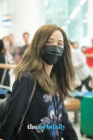 37-BLACKPINK Jisoo Airport Photo Incheon Seoul From New York