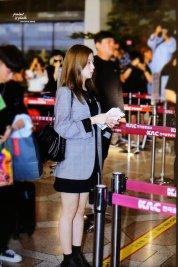 38-BLACKPINK Jisoo Airport Photo 17 September 2018 Gimpo to Japan