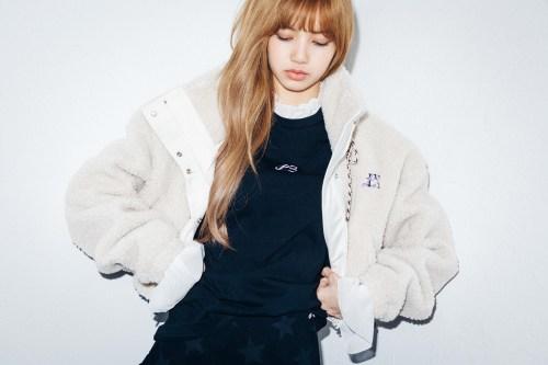 39-BLACKPINK Lisa X-girl Japan Nonagon Collaboration