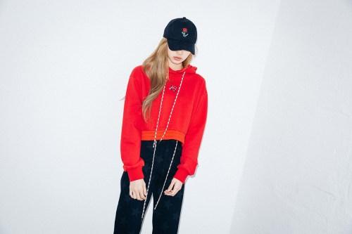 41-BLACKPINK Lisa X-girl Japan Nonagon Collaboration