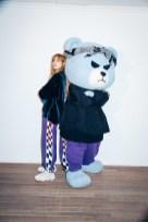 49-BLACKPINK Lisa X-girl Japan Nonagon Collaboration