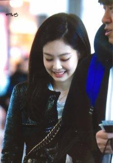 50-BLACKPINK Jennie Airport Photos Incheon to Paris Fashion Week