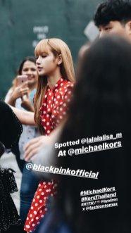 51-BLACKPINK Lisa Michael Kors New York Fashion Week 2018