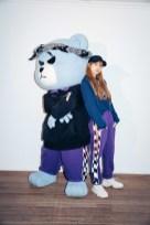 51-BLACKPINK Lisa X-girl Japan Nonagon Collaboration