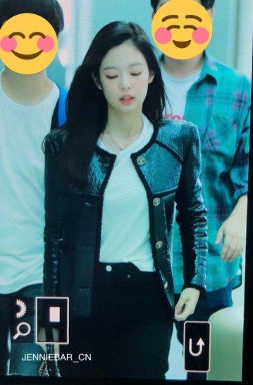 60-BLACKPINK Jennie Airport Photos Incheon to Paris Fashion Week