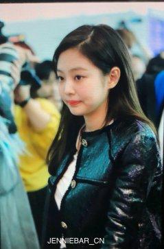 63-BLACKPINK Jennie Airport Photos Incheon to Paris Fashion Week