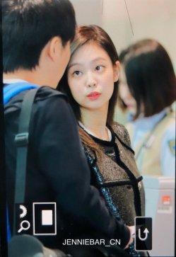 64-BLACKPINK Jennie Airport Photos Incheon to Paris Fashion Week