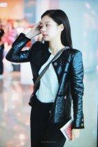 69-BLACKPINK Jennie Airport Photos Incheon to Paris Fashion Week