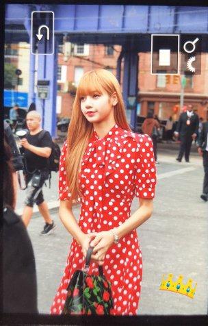 70-BLACKPINK Lisa Michael Kors New York Fashion Week 2018