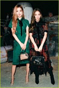 8-BLACKPINK Jisoo Rose COACH New York Fashion Week 2018