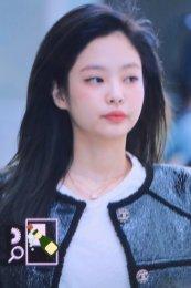 83-BLACKPINK Jennie Airport Photos Incheon to Paris Fashion Week