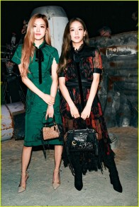 9-BLACKPINK Jisoo Rose COACH New York Fashion Week 2018