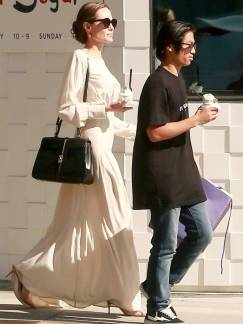 Angeline Jolie Celine Handbag