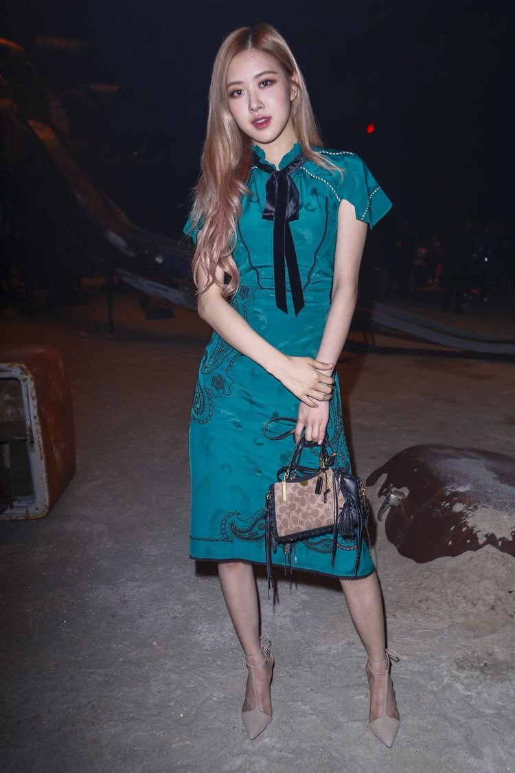 BLACKPINK Rose COACH New York Fashion Week 2018