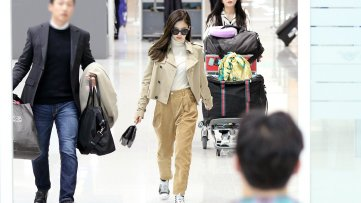 1-BLACKPINK Jennie Airport Photo 4 October 2018 from Paris