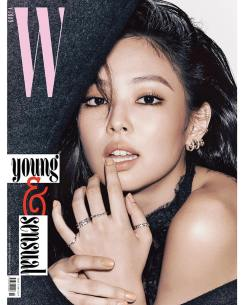 1-BLACKPINK Jennie W Korea Magazine November 2018 Issue