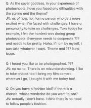 1-English Translation BLACKPINK Jennie Interview GRAZIA China