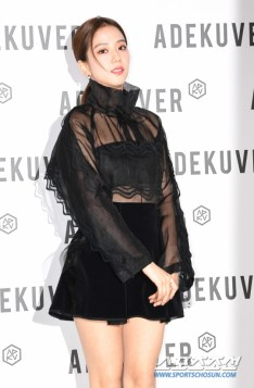 108-BLACKPINK Jisoo ADEKUVER Launch Event 11 October 2018