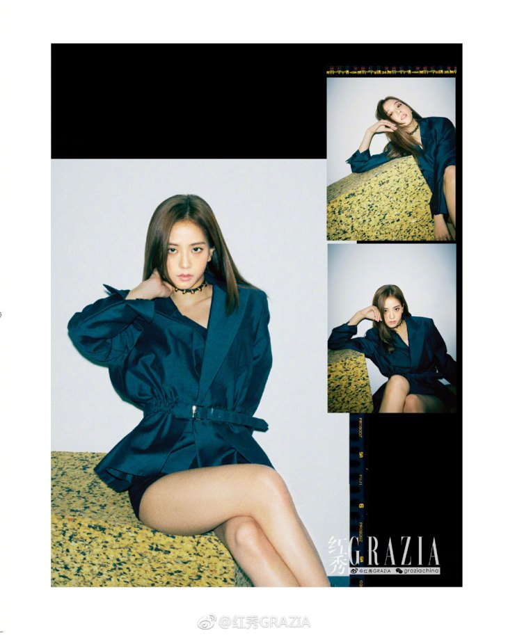 BLACKPINK Jisoo GRAZIA China Magazine
