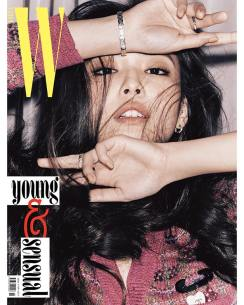 2-BLACKPINK Jennie W Korea Magazine November 2018 Issue