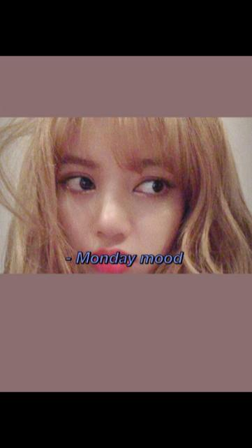 2-BLACKPINK Lisa Instagram Story 15 October 2018