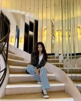4-BLACKPINK Jennie Instagram Photo 2 October 2018 Paris
