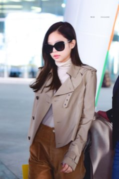42-BLACKPINK Jennie Airport Photo 4 October 2018 from Paris