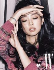 6-HQ-BLACKPINK Jennie W Korea Magazine November 2018 Issue