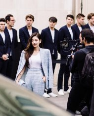 9-BLACKPINK Jennie Chanel Paris Fashion Week Magazine Photos