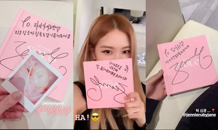 1-Rose-jisoo-lisa-shows-Signed-Jennie-SOLO-Photobook