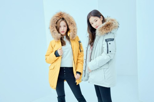 12-HQ-BLACKPINK GUESS Winter Coat Jacket Collection