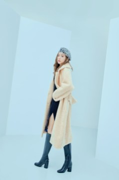 14-HQ-BLACKPINK GUESS Winter Coat Jacket Collection