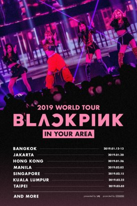 2-Schedule-BLACKPINK-World-Tour-2019-Country List