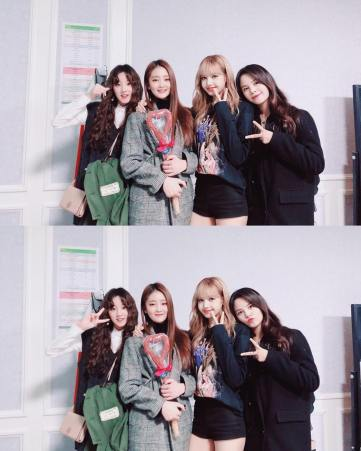 33-Backstage Photo BLACKPINK Seoul Concert 2018 Gidle