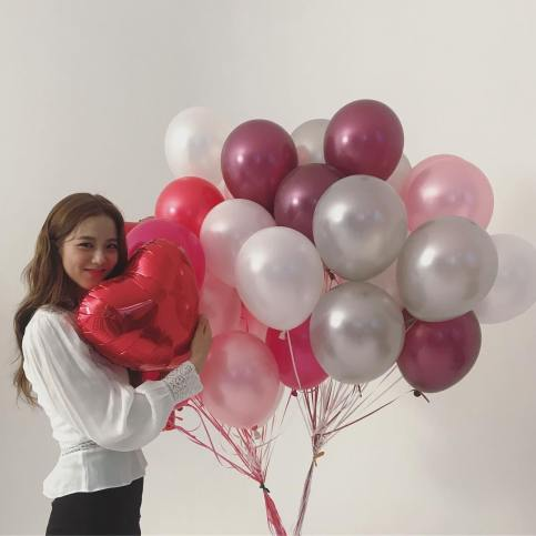 4-BLACKPINK Jisoo Instagram Photo 26 November 2018 balloon