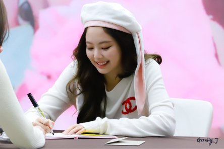 90-BLACKPINK Jennie SOLO Fansign Event 17 November 2018 Coex