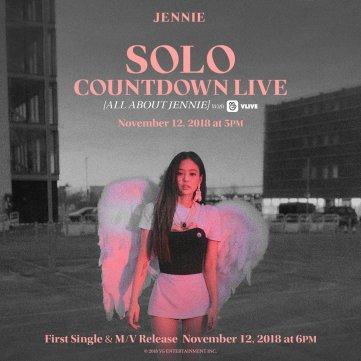 BLACKPINK JENNIE SOLO COUNTDOWN LIVE