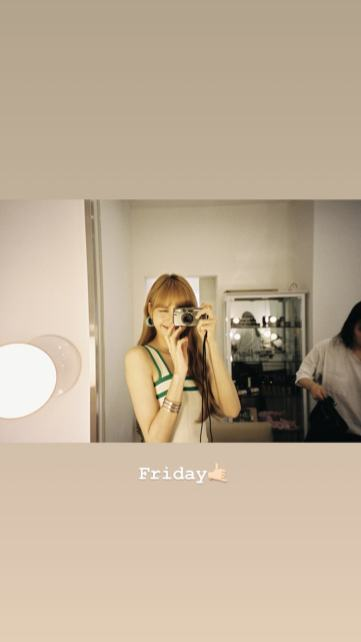 BLACKPINK Lisa Instagram Story 23 Nov 2018