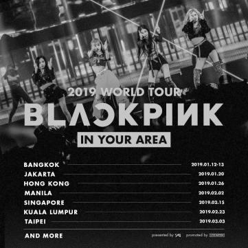 BLACKPINK Rose Instagram photo 1 November 2018 World Tour