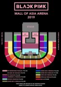 Seat Plan BLACKPINK concert manila Philippines