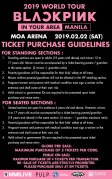 Ticket Purchase Guideline