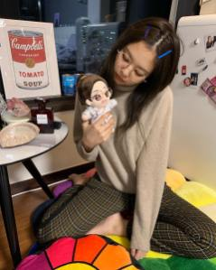 10-BLACKPINK Jennie Instagram Photo 27 December 2018