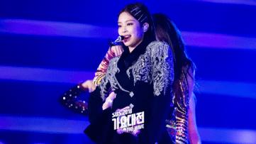 8-BLACKPINK Jennie SBS Gayo Daejun 2018 Official Photos