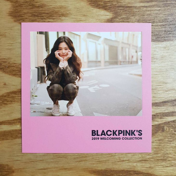 5 Polaroid Photocards BLACKPINK 2019 Welcoming Collection