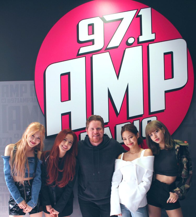 BLACKPINK English Interview with 97.1 AMP Radio, LA New Hit Music